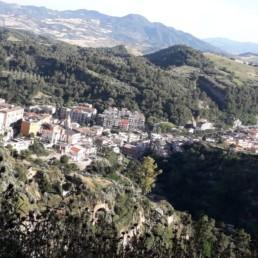 Tursi, il borgo. Basilicata